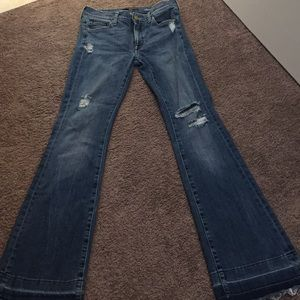 Flared 7 for all mankind jeans